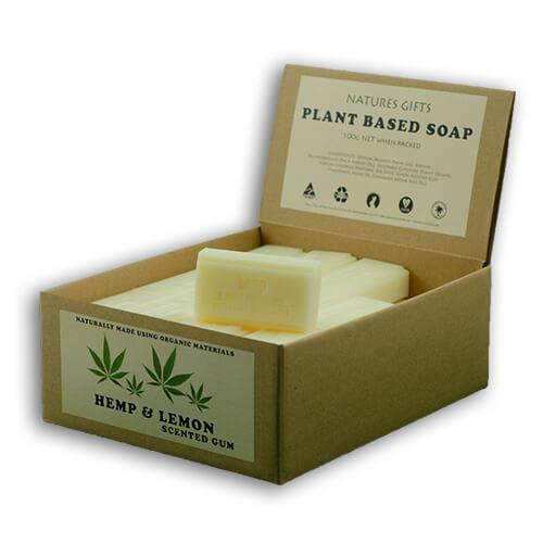 Custom Organic Hemp Soap Boxes
