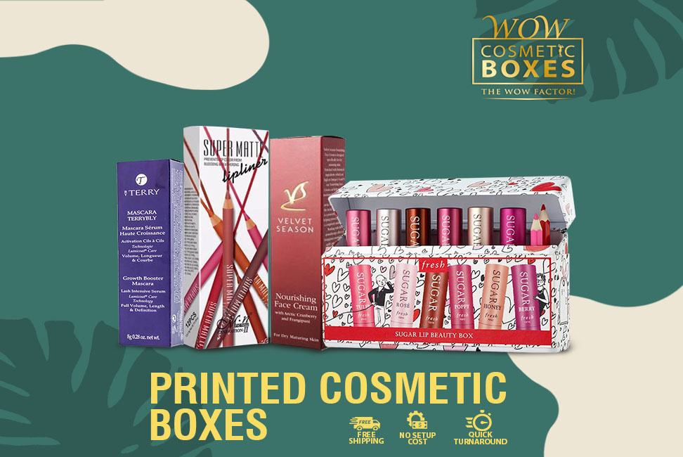 Printed Cosmetic Boxes