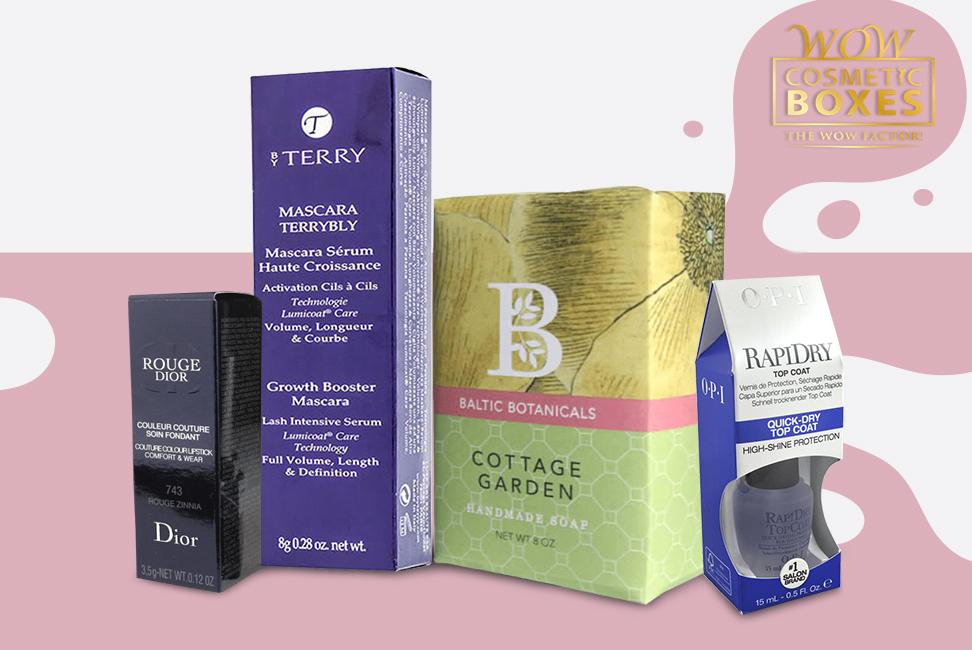 Cosmetic Packaging & Soap packaging