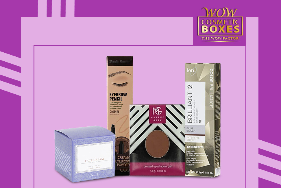 Cosmetic packaging & Eyeliner Boxes