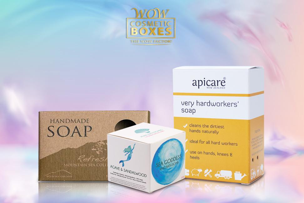 Bath Bomb & Soap boxes