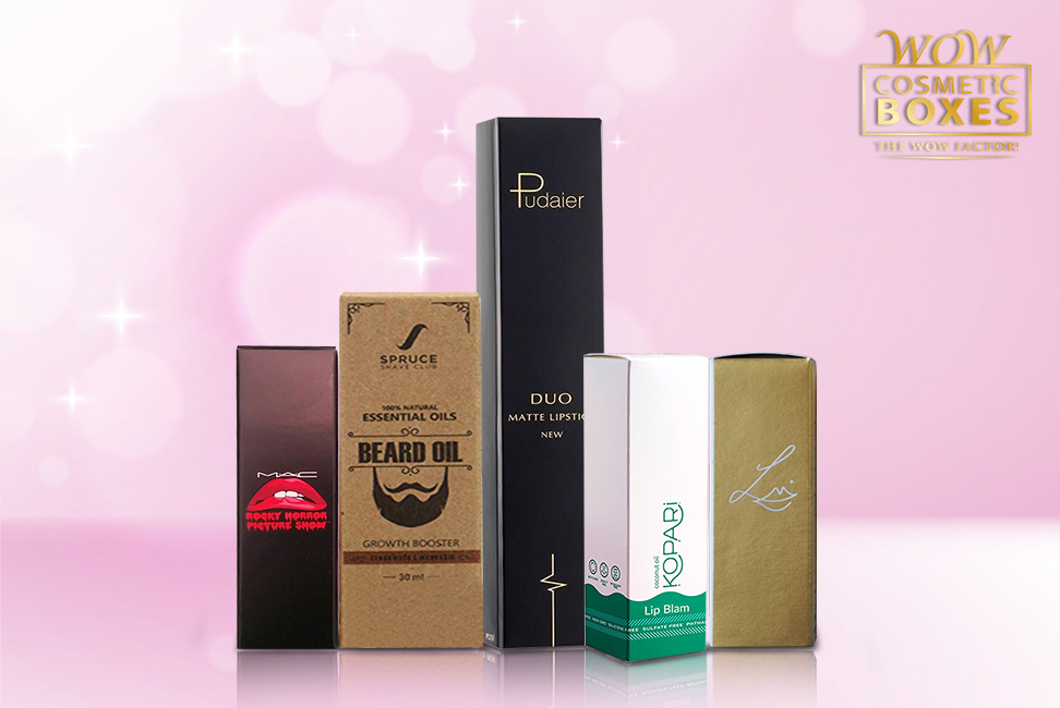 Cosmetic Boxes & lipstick boxes