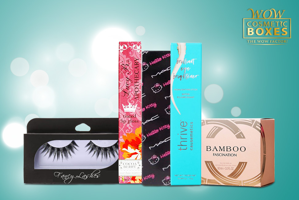 Cosmetic & Lip Gloss boxes