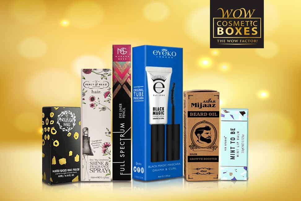 Cosmetic Packaging and Eye Makeup Boxes