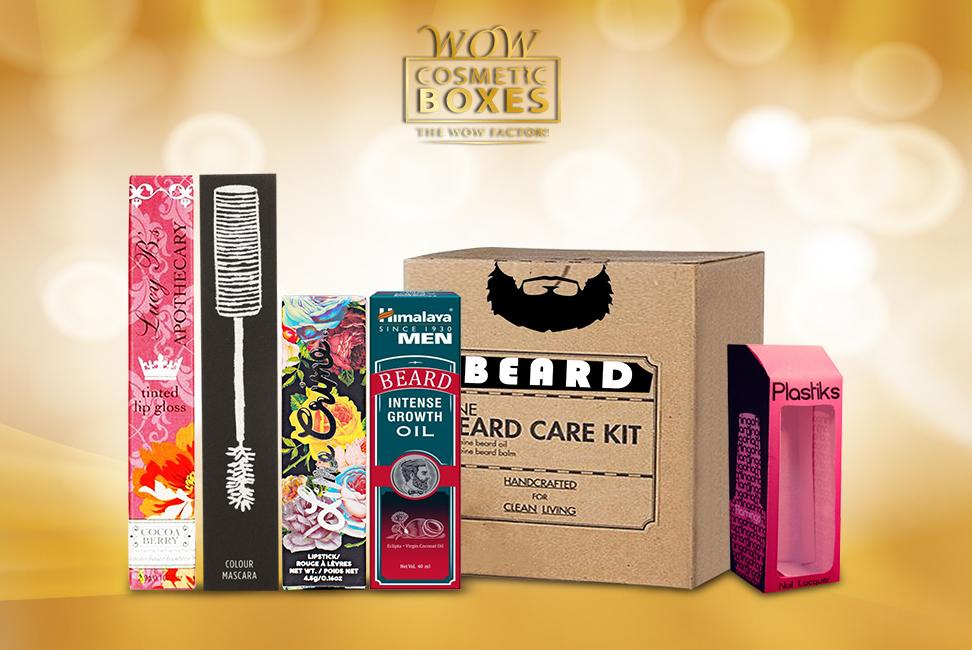 Cosmetic packaging & Beard oil boxes