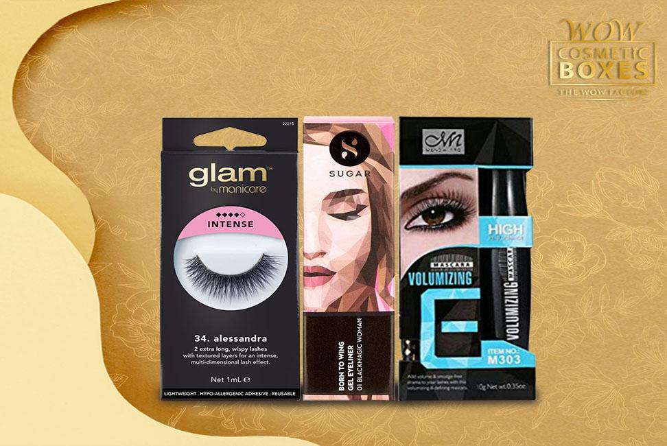 Eyeliner Boxes & Eyelash boxes