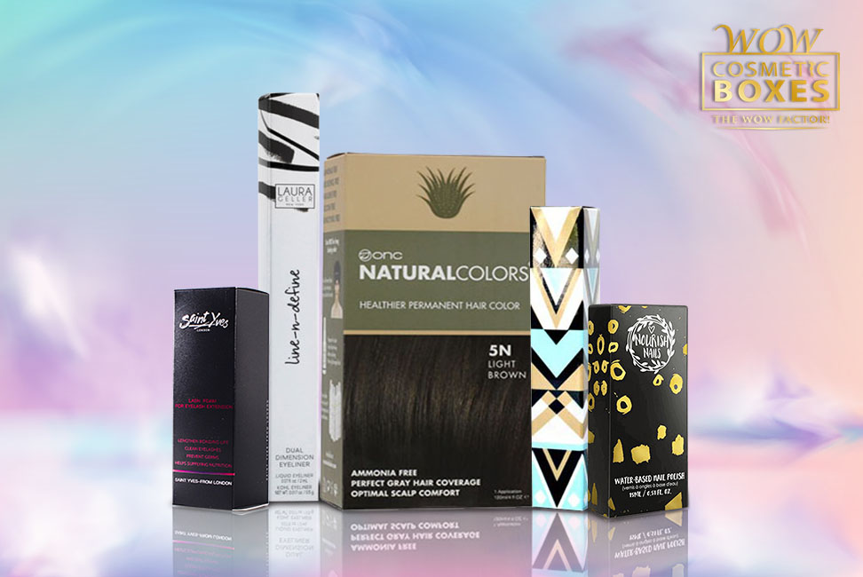 Hair Spray & Cosmetic boxes