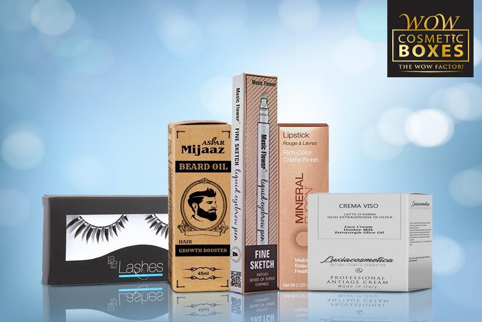 Cosmetic & Eyelash Boxes