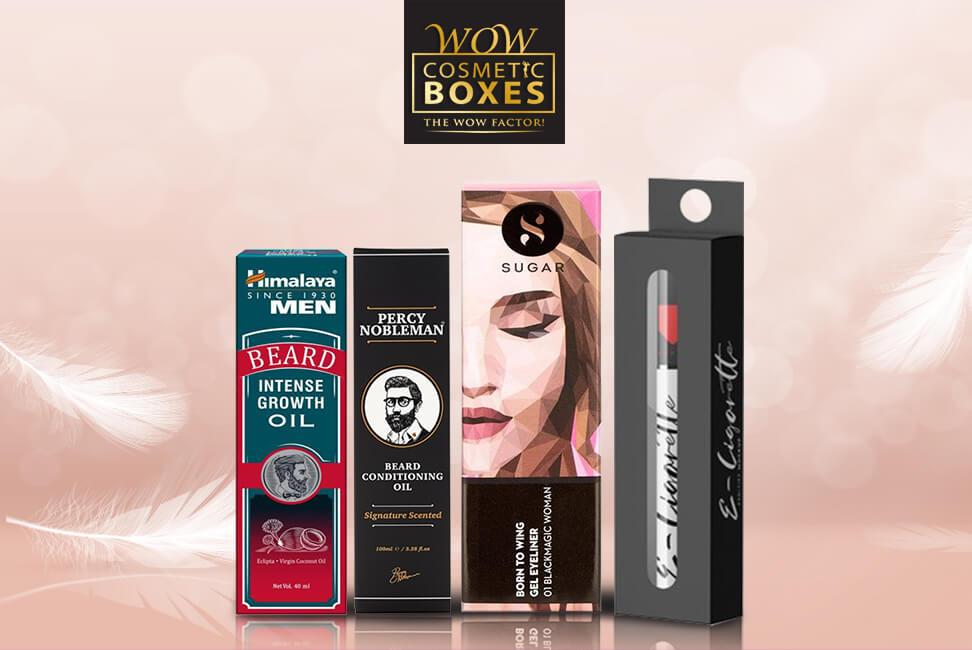Eyeliner and Beard Oil Packaging