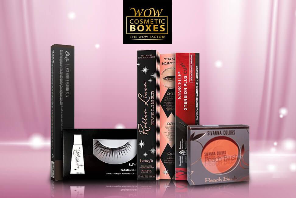 Eye Makeup and Eyelash Boxes