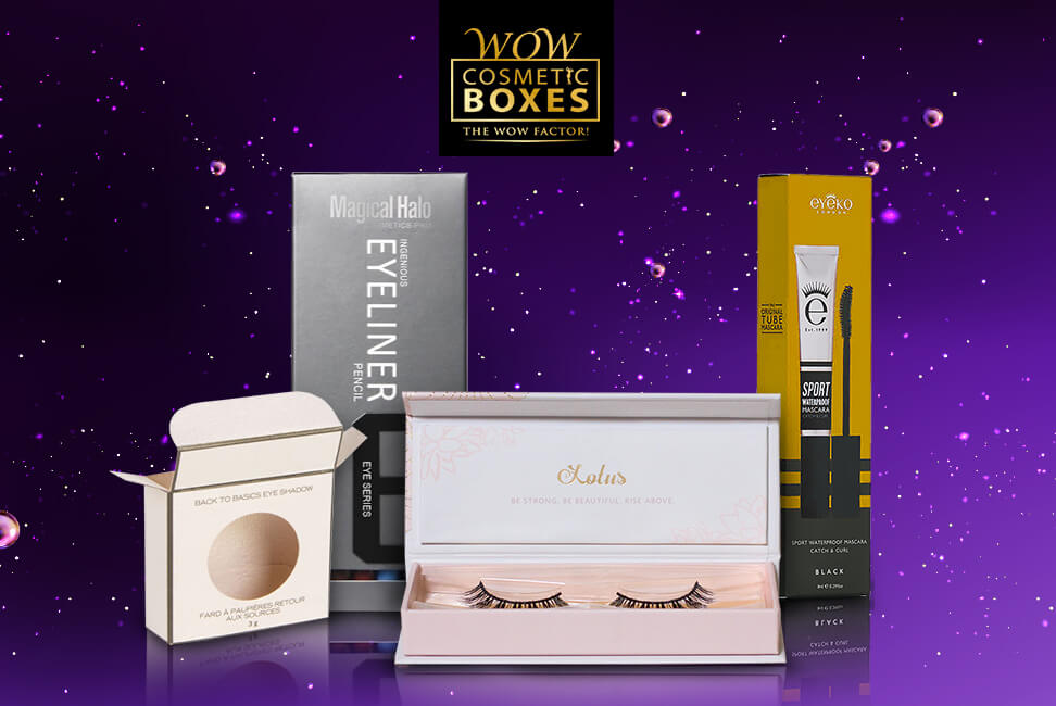 Eyelash and Eye Makeup Boxes