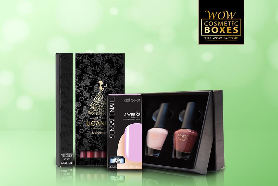 Nail Polish and Lip Liner Boxes