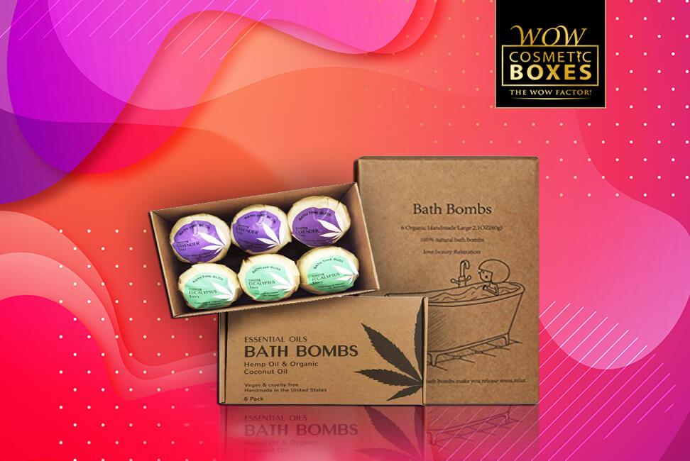 Eco Friendly Bath Bomb Boxes
