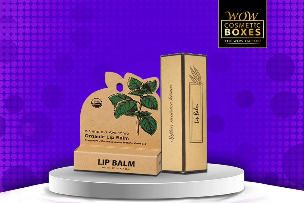 Eco Friendly Lip Balm Boxes
