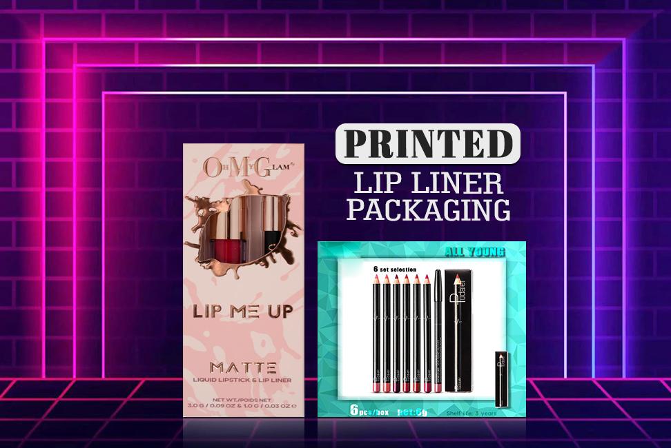 Printed Lip Liner Packaging